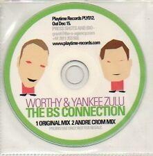 (710D) Worthy & Yankee Zulu, The BS Connection - DJ CD