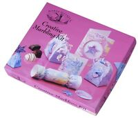 Creative Marbling Ink Craft Kit House Of Crafts Gift Set With Blank Cards HC440