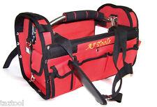 Heavy duty Canvas Mechanic Electrician Tool Bag 15 Pockets Carry Bag Tools