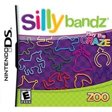 Silly Bandz Game w/ Exclusive Silly Bandz Pack Nintendo DS NEW SEALED
