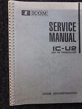 ICOM IC-U2 SERVICE MANUAL