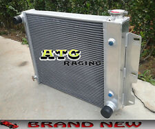 3 ROW Aluminum Radiator for Jeep Wrangler TJ YJ V8 Conversion AT 87-95 97-02