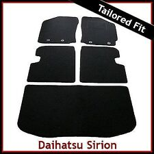 Daihatsu Sirion (2005 2006...2009 2010 2011) Tailored Fitted Car and Boot Mats