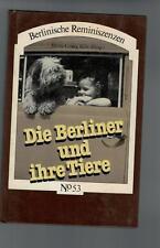 Heinz-Georg Klös - Die Berliner und ihre Tiere - 1981
