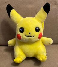 "Pikachu Plush - 6"" Hasbro 1998 w/Tag"