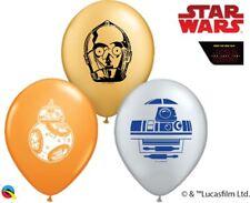 "100 x 5"" Round Star Wars Droids Latex balloons"