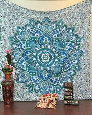 bohemian tapestries hippie mandala wall hanging tapestry indian queen bed cover