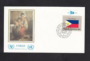 Erstatgsbrief , Vereinte Nationen  New York ,  vom 24. Sept. 1982 - Philippines