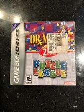 Dr. Mario & Puzzle League Nintendo Game Boy Advance GBA New Seal Ripped Open