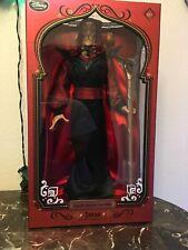 Disney Store Limited Edition Jafar Doll From Aladdin Villain Will Smith