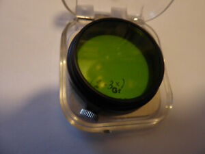 LEICA antik green Filter made about 1950 never used since 1980 in my hands !