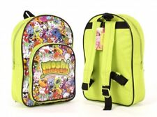 MOSHI MONSTERS SCHOOL BAG RUCKSACK BACKPACK GREEN