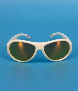 Babiators Kids Sunglasses White Plastic Aviator Youth Boys Girls As Is 0 1 2T 3T