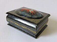 Russian Hand Painted Lacquered Box