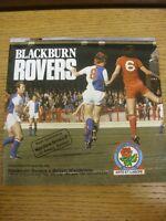 18/04/1981 Blackburn Rovers v Bolton Wanderers  . Footy Progs (aka bobfrankandel