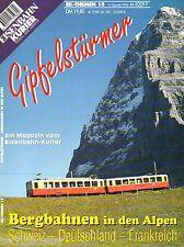 Eisenbahn Kurier EK Themen Heft 15 Gipfelstürmer Bergbahnen Alpen D CH F Bahn