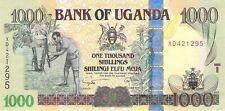 UGANDA 1000 SHILLINGS 2007 P 43b AU - Free to Combine Low Shipping