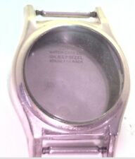 NOS Antique  Duro Watch Co 10k Yellow RGP Stainless Steel Wrist Watch Case #1I