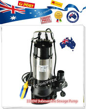 1100W Heavy Duty Sewage Grey Water Submersible Sump Pump