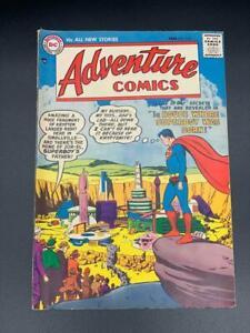 DC Adventure Comics #232 JAN 1957 Silver Age Comic House Where Superboy Was Born