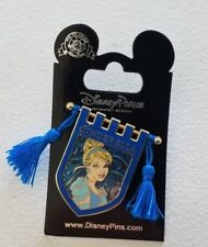 NEW Disney Parks PRINCESS CINDERELLA Tapestry Banner Series Tassel Pin
