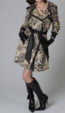 BEBE Original Animal Leopard Print Coat Jacket Small $359