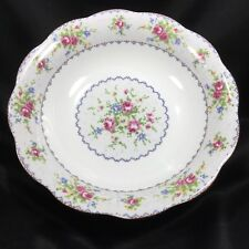 "Royal Albert Petit Point Round Serving Vegetable Bowl 9 1/2"" Fine China England"