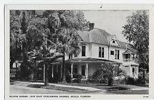 Ocala FL Hilmar Manor 1019 East Ocklawaha Avenue Florida Vintage Postcard