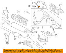 FORD OEM 11-16 F-150 3.5L Exhaust System-Catalytic Converter Adapter BL3Z9N496A