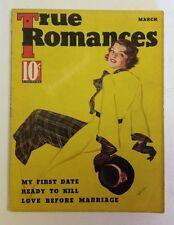 True Romances Magazine    March 1936     Cool Vintage Ads