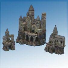 New listing Penn Plax Magical Castle Aquarium Terrarium Decoration Ornament 3 Pcs Set