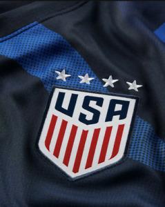 $90 Nike Team USA  Away 20/2021 Soccer Women Jersey Blue CD0907 475
