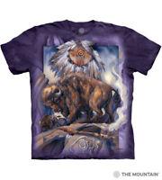 The Mountain 100/% Cotton Unisex Adult T-Shirt Clinton NWT