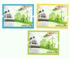 Portugal 2016 - EUROPA Think Green - Portugal, Azores, Madeira set MNH
