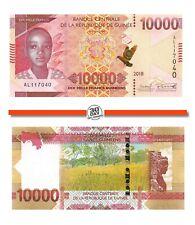 Guinea 10000 Francs 2018 Unc pn 52