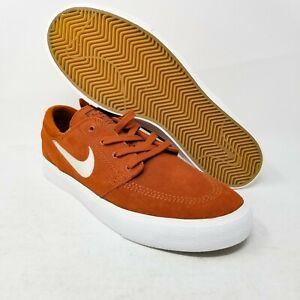 Nike SB Stefan Janoski RM Suede Dark Russet Sand Brown AQ7475-203 sz US 8 UK 7