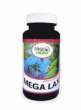 Mega Health Mega Lax Laxative for Constipation & Digestion 120 Capsules