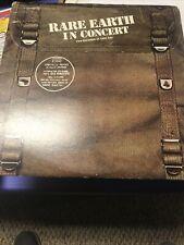 Rare Earth – Rare Earth In Concert (1971) LP