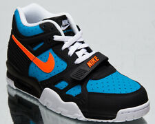 Nike Air Trainer 3 Men's Black Orange Blue Athletic Lifestyle Sneakers Shoes