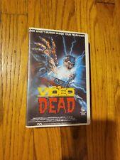 The Video Dead -- Beta BETAMAX -- Horror--Very Rare