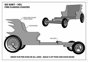 BILLY CART / GO KART V01 - Build With Your Kids ( Building Plans Only )