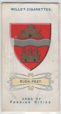 Budapest Coat Of Arms Hungary 100+ Y/O  Ad Trade Card