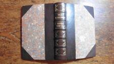 FELIX MENDELSSOHN BARTHOLDY LETTERS FINE GILT LEATHER BINDING 1864 MUSIC