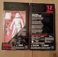 Star Wars The Force Awakens TFA Black Series First Order Snowtrooper NEW!
