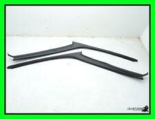 88-91 Honda CRX A Pillar Cover Set - Driver & Passenger - Black Interior Trim