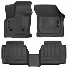 17-19 Fusion MKZ Husky Liners WeatherBeater 3pc All Weather Floor Mats 98791
