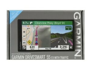 """Garmin DriveSmart 55 5.5"""" GPS System with Real-Time Traffic - 010-02037-09 (NEW)"""