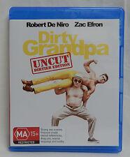 Blu-ray BLURAY DIRTY GRANDPA UNCUT EDITION ZAC EFRON ROBERT DE NIRO