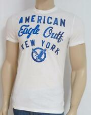 American Eagle Outfitters AEO New York Applique White T-Shirt New NWT Mens XS