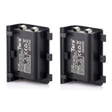 Paquete de batería recargable de 2X 2000mAh + 1.8M de largo Cable de carga para XBOX ONE